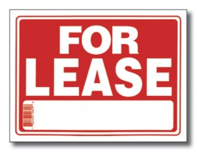 Sign - For Lease 9x12