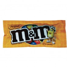 M&M's Peanut Chocolate Candies 1.74oz