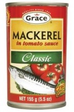 Grace Mackerel in Tomato Sauce, 15oz