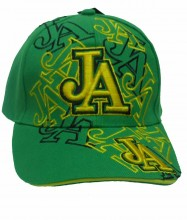 Jamaican Baseball cap Embroidered JA