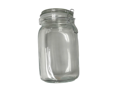 Circleware Large Glass Canister