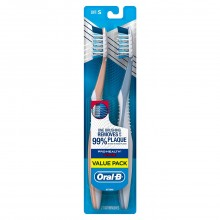 Oral-B Pro Health All In One Twin Pack Toothbrush, Soft