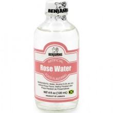 Benjamin Rose Water 4oz 120ml