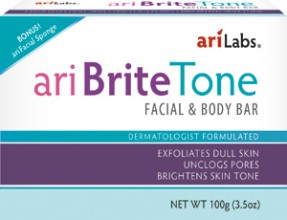 Ari Brite Tone Facial & Body Bar, 100g (3.5oz)