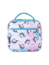 Lunch Break Unicorn Print Lunch Bag