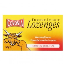 Covonia Cough Lozenges Storng Original 51 Gm