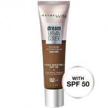 Dream Urban Cover Flawless Coverage Foundation Makeup, SPF 50  Java