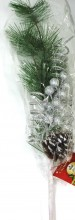 Miro Chistmas Collection's Edition Christmas Flower Spray 71cm Silver