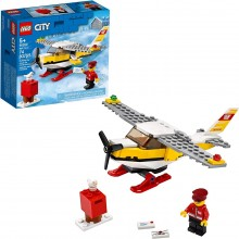 LEGO City Mail Plane 60250 Building Set for Kids (74 Pieces)