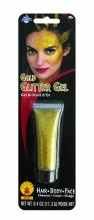 Rubie's Gold Glitter Hair Gel, 39167