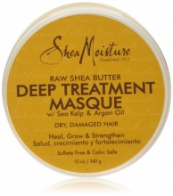 Shea Moisture Raw Shea Butter Masque Deep Treatment 12oz/340g