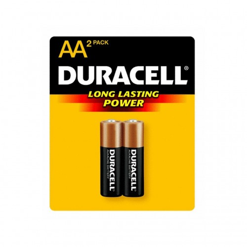 Duracell Mn-1500B2 Aa Cell Alkaline Batteries - 2-Pack