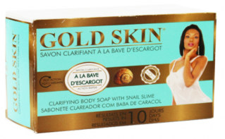 Gold Skin Clarifying Body Soap With Snail Slime 6 oz / 180g