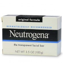 Neutrogena Transparent Facial Bar Soap, Original 3.5 Oz (100 g)