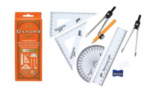 Maths Set Helix Oxford 9 Piece