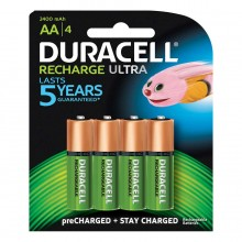 Bat Duracell Rechargeable Set