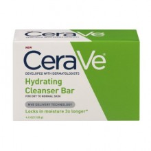 CeraVe Hydrating Cleanser Bar For Normal To Dry Skin, 4.5oz