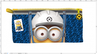 Pencil Case Minion, 1 each