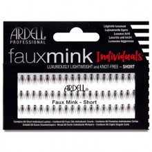 Faux Mink Individuals Short Black