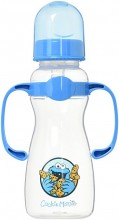 Sesame Beginnings Bottle with Handles, 9 Ounce