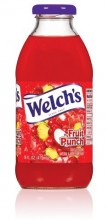 Welch's Fruit Punch, 16 oz