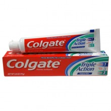 Golgate Toothpaste Triple Action Original Mint, 2.8oz