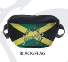 Robin Ruth Fanny Pack, Jamaica Flag Black, RR-BJ258