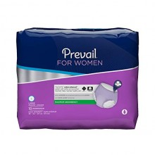 Prevail Maximum Absorbency Incontinence Underwear for Women Large 18 Count Breathable Rapid Absorption Discreet Comfort Fit Adult Diapers