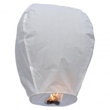 Handcrafted Chinese Sky Lanterns White