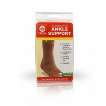 Fitzroy Elasticated Ankle Support, M, 20.3 - 25.4cm
