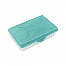 Sterilite Supply Box 1729 Plastic Small Supplies Craft Storage Container