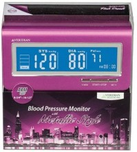 Veridian 01-513PK Metallic Style Arm Blood Pressure Monitor