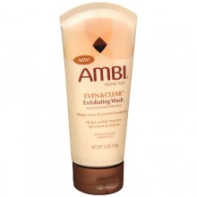 Ambi Skincare Even & Clear Exfoliating Wash, 5 Ounce