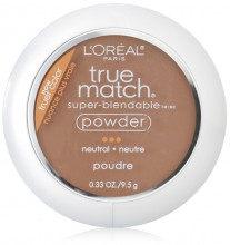L'Oreal Paris True Match Powder, Cappucino , 0.33 Ounces