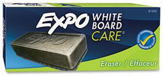 EXPO White Board Care Eraser, Soft Pile, Dry Erase Board Eraser
