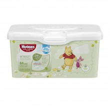 Huggies Wipes Lingettes Natural Care, 64 Count