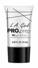 L.A. Girl Pro Prep High-Definition Smoothing Face Primer, GFP949 Clear, 15ml