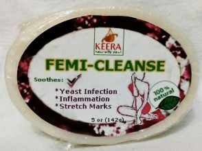 Keera Naturally You Femi-Cleanse Bar Soap 5oz