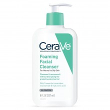 CeraVe Foaming Facial Cleanser For Normal To Oily Skin 8oz
