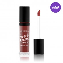 Jordana Sweet Cream Matte Liquid Lip Color- 21 Molten Chocolate Cake