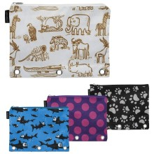 Assorted Merangue Pouch With Animal Designs