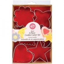 Wilton Cookie Cutter Set 6pcs