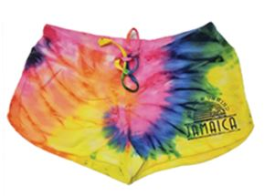 Ladies Tie Dye Shorts