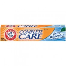 Arm and Hammer Complete Care Extra Whitening Fresh Mint with Baking Soda and Peroxide Toothpaste