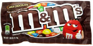 M&M's Milk Chocolate Candies 1.69oz