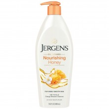 Jergens Oil-Infused Nourishing Honey Lotion, 16.8oz