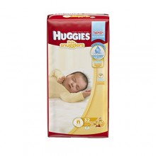 Huggies Newborn Little Snugglers Jumbo, 32 Count