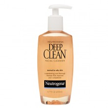 Neutrogena Deep Clean Facial Cleanser  6.7OZ