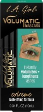 L.A. Girl Volumatic Mascara, 0.34 Fl Oz, Turquoise