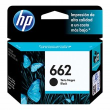 HP 662 Black Original Ink Advantage Cartridge (CZ103AL).